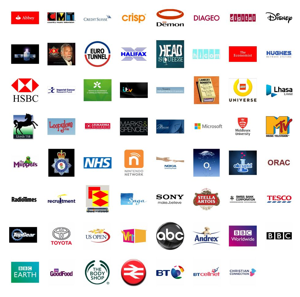 Companies we have worked with...